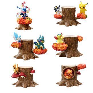 Figura Atsumete! Kasanete! Pokemon no Mori Vol 5 Hanabira no Mai Set