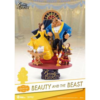 Beauty And The Beast Figure Disney D-Select