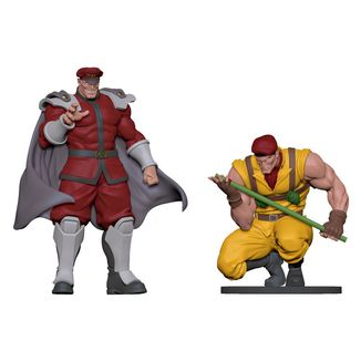 Figura Bison & Rolento Street Fighter