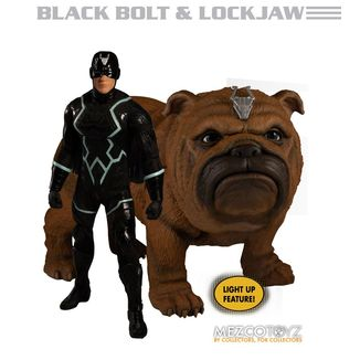 Black Bolt & Lockjaw Figura Marvel Universe