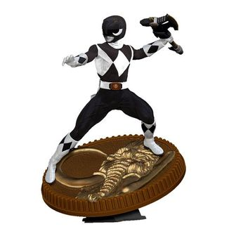 Figura Black Ranger Mighty Morphin Power Rangers