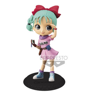 Bulma Figure Dragon Ball Q Posket