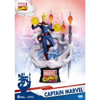 Captain Marvel Figure D-Stage Marvel Comics
