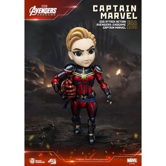 Figura Captain Marvel Vengadores Endgame Egg Attack