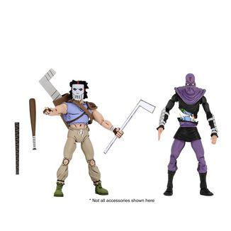 Casey Jones & Foot Soldier Figure Teenage Mutant Ninja Turtles Set