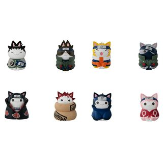 Cats of Konoha Village Figure Naruto Shippuden Nyaruto Set