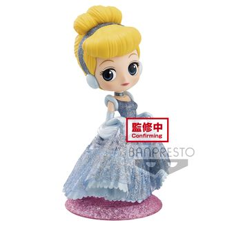 Figura Cenicienta Disney Q Posket Glitter Line