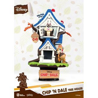 Chip 'n Dale Tree House Figure Disney Summer Series D-Stage