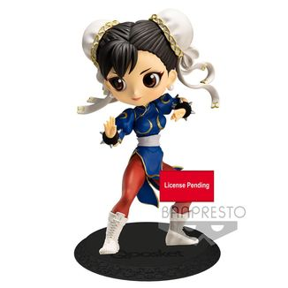 Chun Li Blue Figure Street Fighter Q Posket
