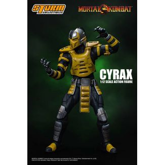 Figura Cyrax Mortal Kombat