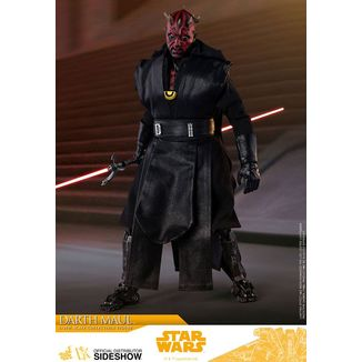 Darth Maul Figure Han Solo Star Wars Movie Masterpiece