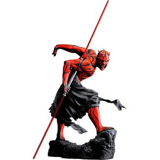 Figura Darth Maul Japanese Ukiyo E Style Light Up Edition Star Wars ARTFX