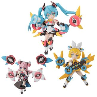 Desktop Army Singer Hatsune Miku Series Figure Set