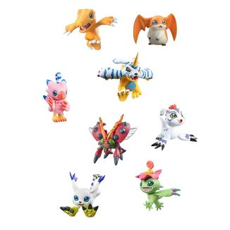 Figura Digimon Adventure Digicolle Mix Data 2 Set