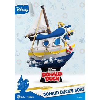 Donald Duck's Boat Figure Disney Summer Series D-Stage