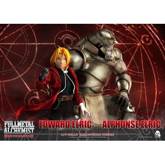 Edward & Alphonse Elric Figure Fullmetal Alchemist Brotherhood Set