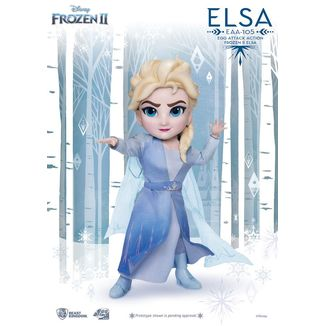 Elsa Figure Frozen II Egg Attack