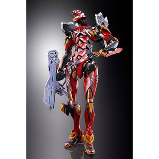 Figura Eva 02 Production Model EVA 2020 Neon Genesis Evangelion Metal Build