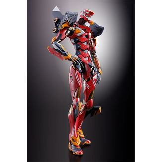 Eva 02 Production Model Figure Neon Genesis Evangelion Metal Build