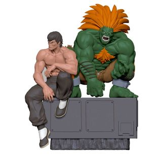 Fei & Blanka Figure Street Fighter