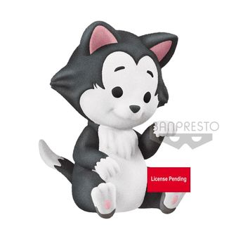 Figura Figaro Aristogatos Disney Fluffy Puffy Cutte