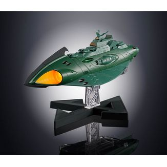Garmillas Space Cruiser Figure Space Battleship Yamato 2202 Soul of Chogokin GX-89