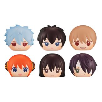 Gintama Figure FukaFuka Squeeze Bread Set