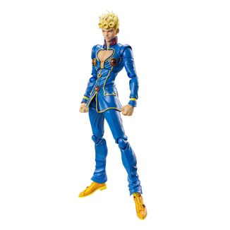Figura Giorno Giovanna 2nd Jojo's Bizarre Adventure Super Action