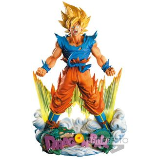 Goku SS The Brush Figure Dragon Ball Z Super Master Stars Diorama