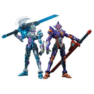 Figura Grid Night & Gridman Initial Fighter Set SSSS.Gridman Actibuilder