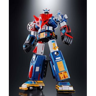 GX-88 Figure Armored Fleet Dairugger XV Soul of Chogokin