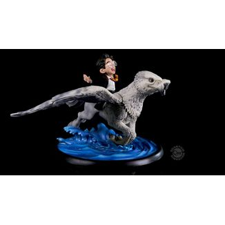 Harry & Buckbeak Figure Harry Potter Q-Fig MAX