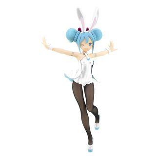 Hatsune Miku Bunnies White Figure Vocaloid BiCute