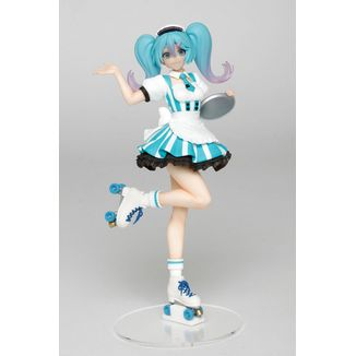 Hatsune Miku Costumes Cafe Maid Figure Vocaloid
