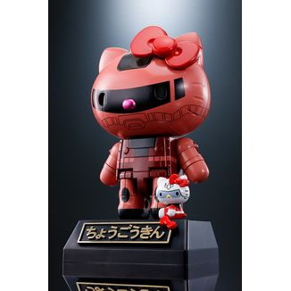 Hello Kitty Chars Zaku II Figure Hello Kitty Chogokin
