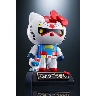 Hello Kitty Gundam Figure Hello Kitty Chogokin