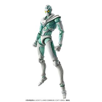 Figura Hierophant Green Jojo's Bizarre Adventure Super Action Chozokado