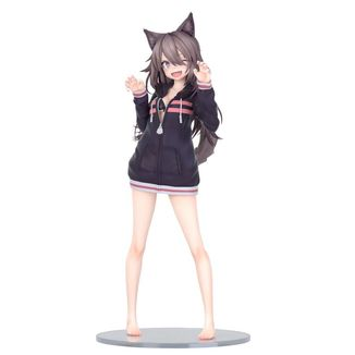 Figura Hoodie Wolf Girl Illustration by Syugao Original Character