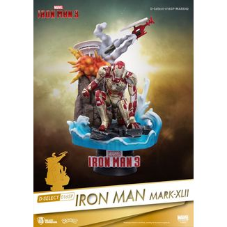 Figura Iron Man Mark XLII Marvel Comics D-Select