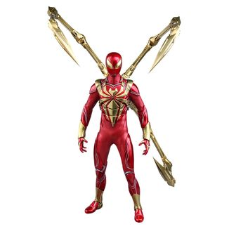 Figura Iron Spider Armor Marvel Spider Man Video Game Masterpiece