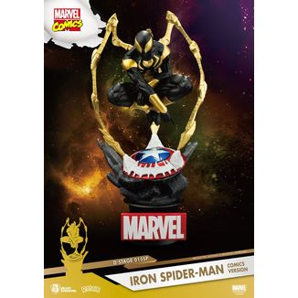 Figura Iron Spider Man Comic Version D-Stage Marvel Comics