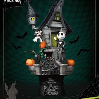 Jack Haunted House Figure Nightmare before Christmas D Stage