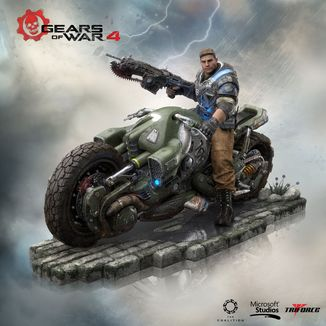 JD Fenix Figure Gears of War 4 Collector's Edition
