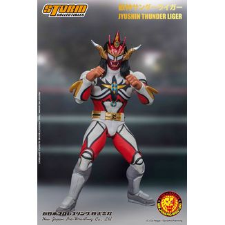 Jyushin Thunder Liger Figure New Japan Pro Wrestling