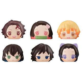 Kimetsu no Yaiba Fluffy Squeeze Bread Figure Set