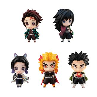 Figura Kimetsu no Yaiba Tanjiro & The Hashiras SET A