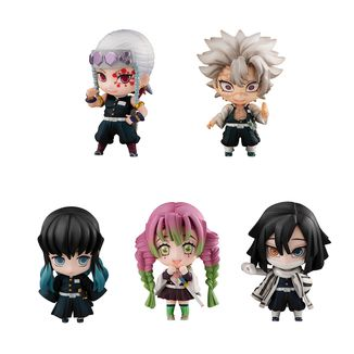 Figura Kimetsu no Yaiba Tanjiro & The Hashiras SET B