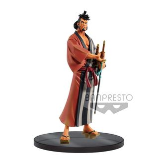Kin Emon Wanokuni Vol 4 Figure One Piece DXF Grandline Men