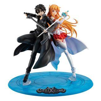 Figura Kirito & Asuna 10th Anniversary Sword Art Online Lucrea