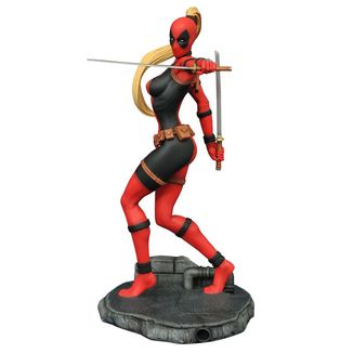 Figura Lady Deadpool Marvel Comic Femme Fatales